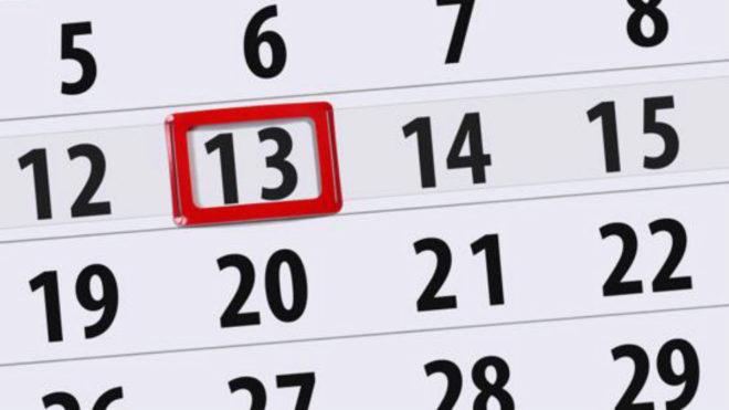 Martes 13: una superstición tradicional sin ningún motivo claro...