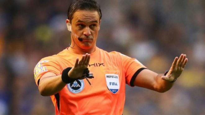 Los árbitros de la tercera fecha de la Superliga: Loustau a Racing vs...
