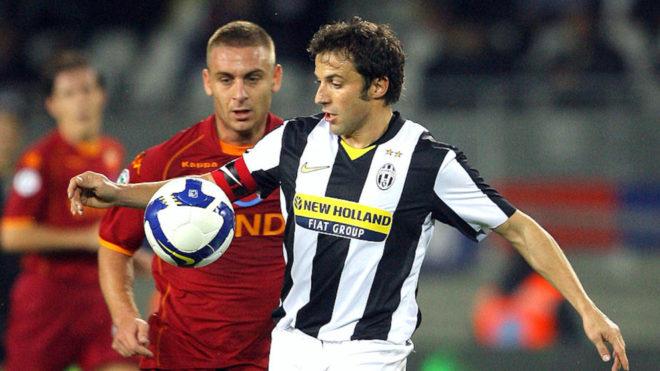 El mensaje de Del Piero a De Rossi antes de su debut en Boca