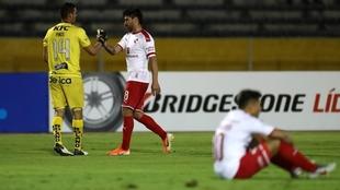 Independiente retorna de Ecuador con la eliminación en la Copa...