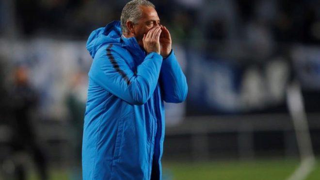 Gustavo Alfaro, director técnico de Boca.