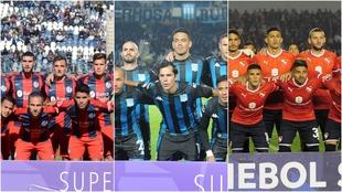San Lorenzo, Racing e Independiente, con muchas obligaciones en la...