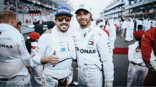 """Mercedes: """"¿Alonso con Hamilton? No queremos un McLaren..."""