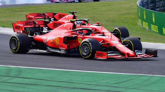 Lo que más ha sorprendido a Leclerc de Vettel