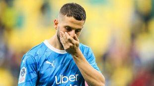 La decepción de Benedetto tras fallar el penal