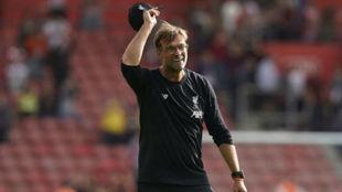 Klopp, tras un partido con el Liverpool.