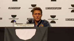 Guillermo, en conferencia de prensa.