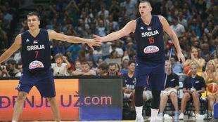 Serbia desbanca a Estados Unidos como favorita al Mundial según el...