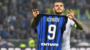 Icardi dejará de usar la nueve en el Inter