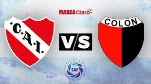 Independiente vs Colón: Horario y dónde ver