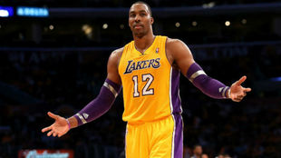 Dwight Howard en su anterior etapa en los Lakers.