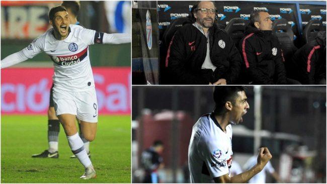 San Lorenzo ganó ante Arsenal y es líder de la Superliga.