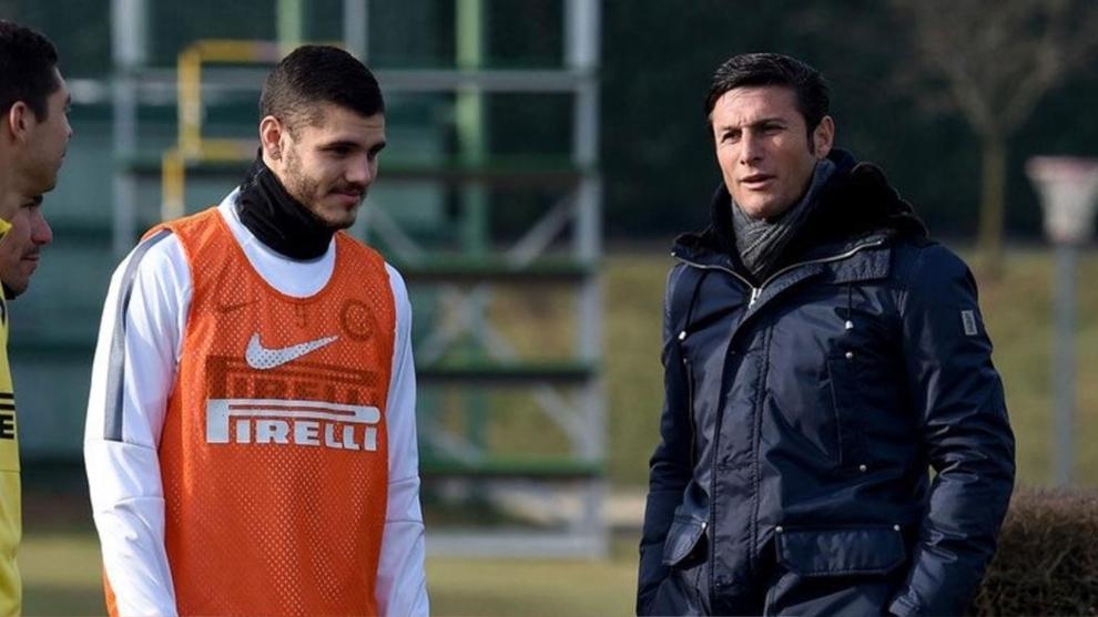 Zanetti habló sobre la situación de Icardi
