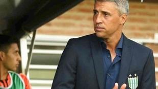 Hernán Crespo, exfutbolista y actual director técnico.