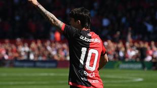Mauro Formica se perderá el clásico ante Rosario Central