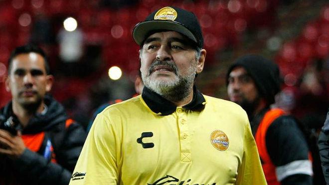 Diego Maradona descartó su llegada a Gimnasia y Esgrima La Plata.