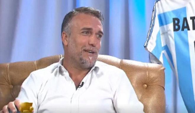 Gabriel Batistuta se opera del tobillo para que le pongan una prótesis