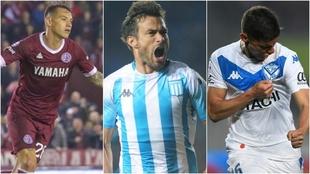 Auzqui, Cvitanich y Robertone, los autores de los mejores goles de la...
