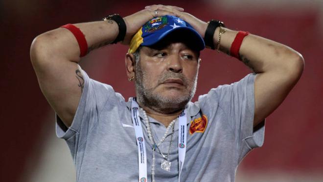Diego Maradona, nuevo director técnico de Gimnasia y Esgrima La...