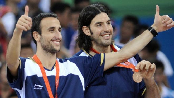 El mensaje de Manu Ginóbili por la clasificación del básquet a...