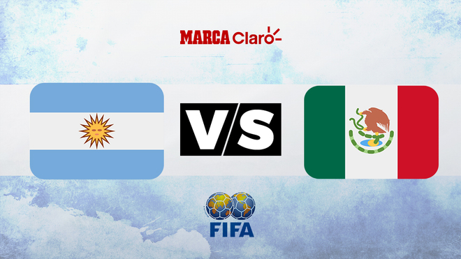 Argentina vs México: Horario y dónde ver en TV online el partido...