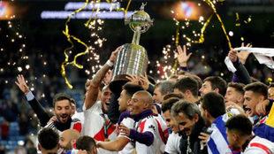 River y la Copa Libertadores 2018.