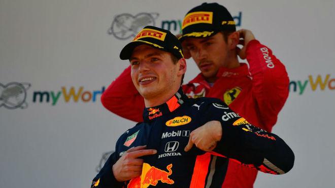 Verstappen no descarta ir a Ferrari con Leclerc en el futuro