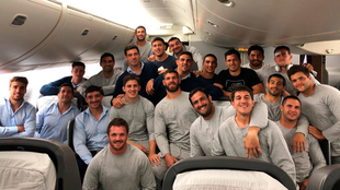 Los Pumas arriban a Japón para disputar el Mundial