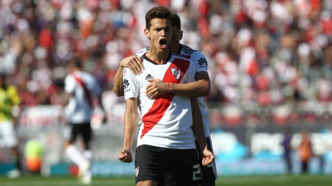 Preocupación en River por la lesión de Cristian Ferreira