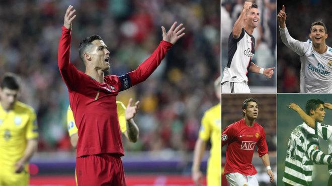 Cristiano Ronaldo sigue ampliando su colección: ya ha marcado a 150...