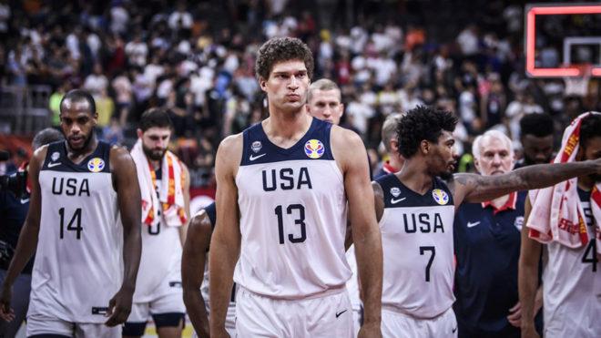 Estados Unidos, eliminado en cuartos de final.