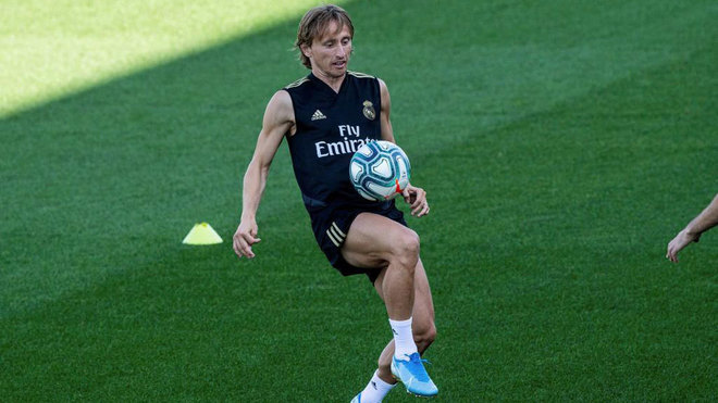 Luka Modric, baja en el Real Madrid