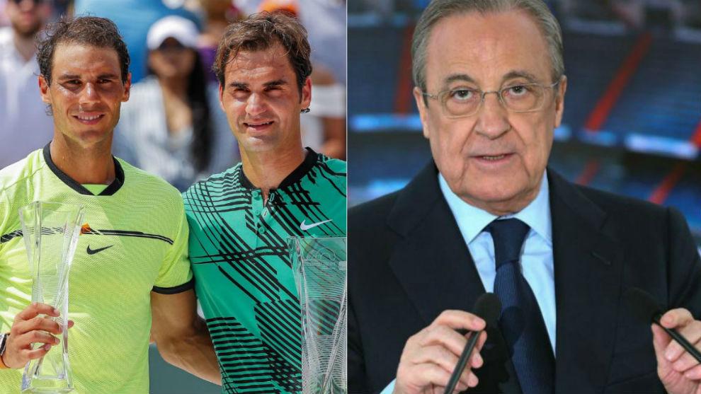 Nadal y Federer, el sueño de Florentino Pérez