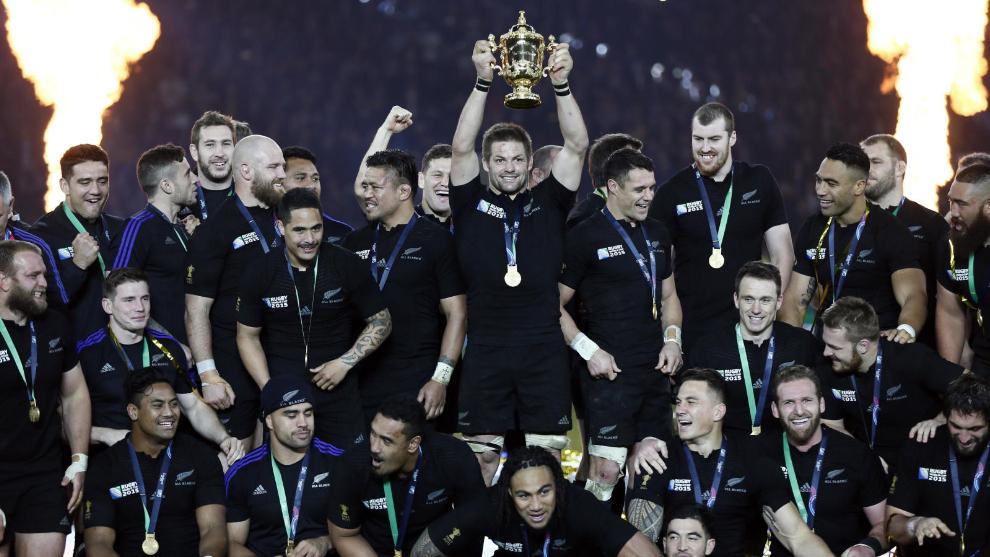Los All Blacks ganaron las dos últimas Copas del Mundo