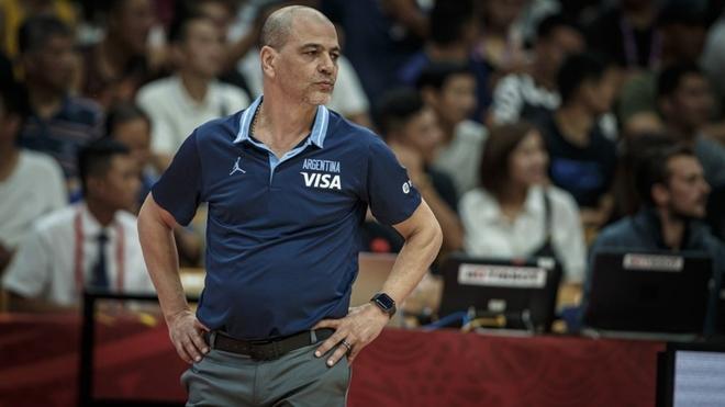 Sergio Hernández, entrenador de la Selección Argentina.