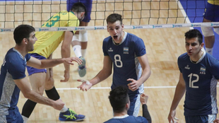 Argentina cae ante Brasil en la definición del Sudamericano