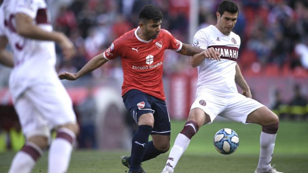 Independiente y Lanús igualaron 2-2 en Avellaneda
