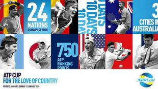 Se realizó el sorteo de la Copa del Mundo ATP programada para enero...