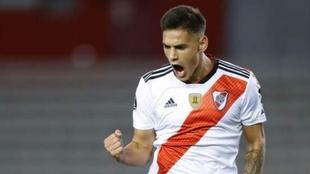Lucas Martínez Quarta, defensor titular de River.