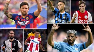 Los argentinos que van por el sueño de ganar la Champions League