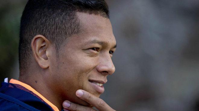 El colombiano Fredy Guarín