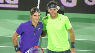 Oficial: ¡Del Potro y Federer volverán a jugar en Argentina!