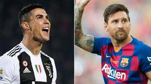 Cristiano lleva más títulos y goles en el torneo que Leo.
