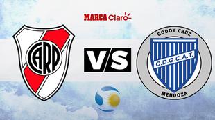 River vs Godoy Cruz: Horario y dónde ver en TV online el partido de...