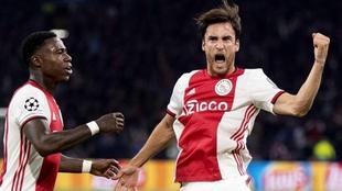 Nicolás Tagliafico, figura en el éxito de Ajax.