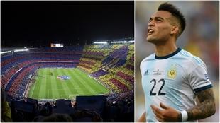 El Camp Nou, posible sede del amistoso de Argentina en la próxima...