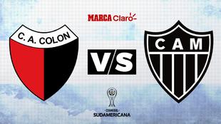 Colón vs Atlético Mineiro: horario y donde ver en TV online la ida...