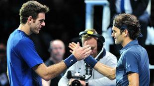 Del Potro y Federer se vuelven a ver las caras