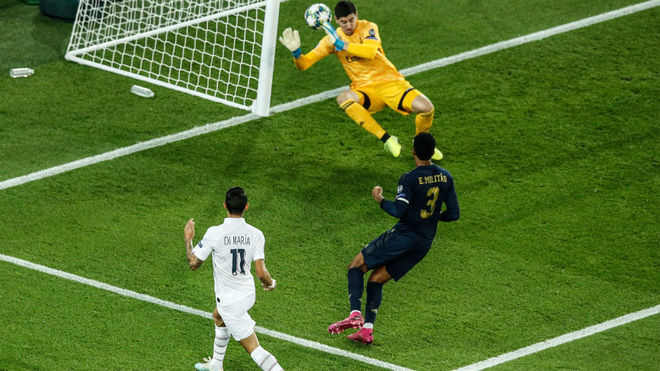 Ángel Di María se despachó con dos goles