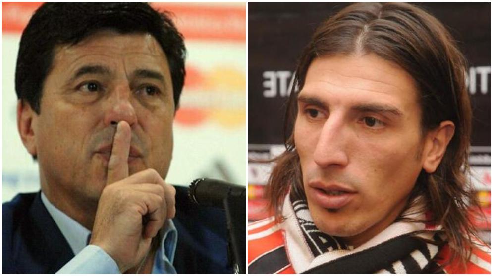"Daniel Passarella y Carlos ""Chichi"" Arano"